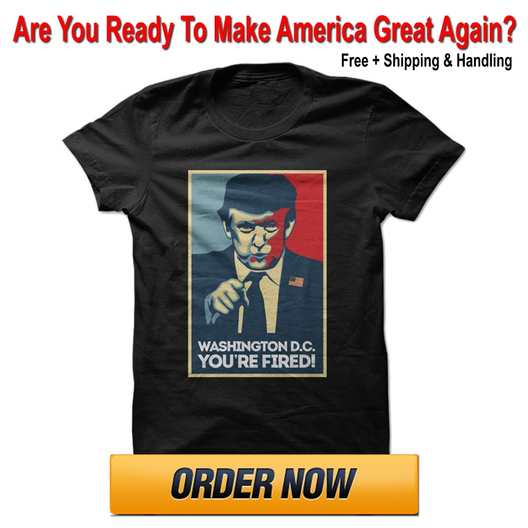 Free Trump T-Shirt: DC You're Fired